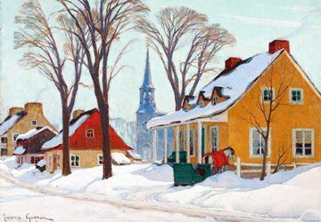 Peintres québécois - Clarence Gagnon