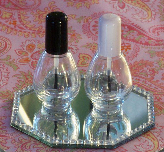 25 Empty Nail Polish Bottles by FrankenPolishBar on Etsy, $9.99