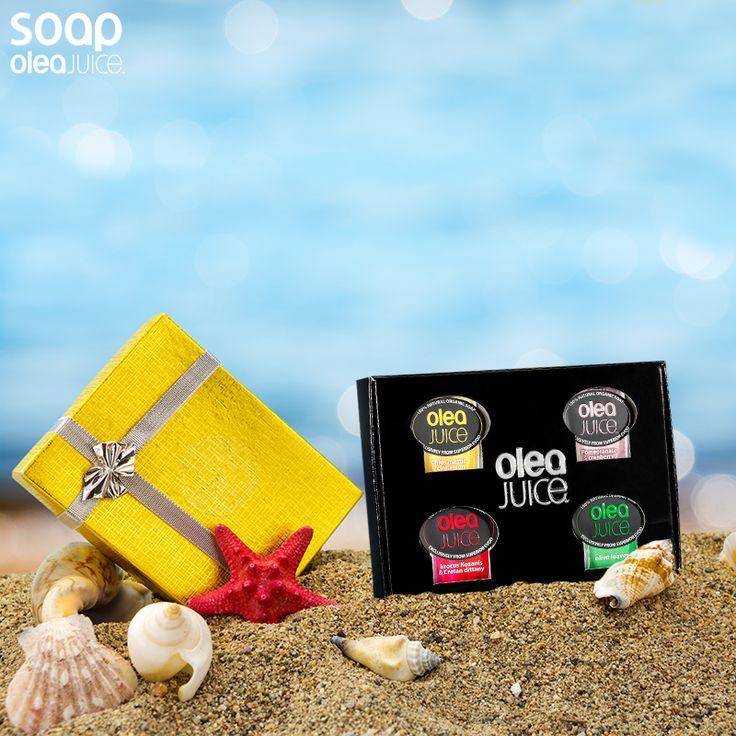 Συσκευασία Olea Juice 4 τεμαχίων, και κάνε ένα χειροποίητο, ξεχωριστό δώρο στους αγαπημένους σου!!! #organicsoap #oleajuice #soap #handmade #artisanal #summer