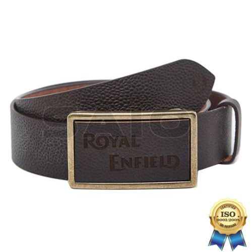 100% Genuine Authentic Royal Enfield Clothing - Re Brown Belt Size S | Saio