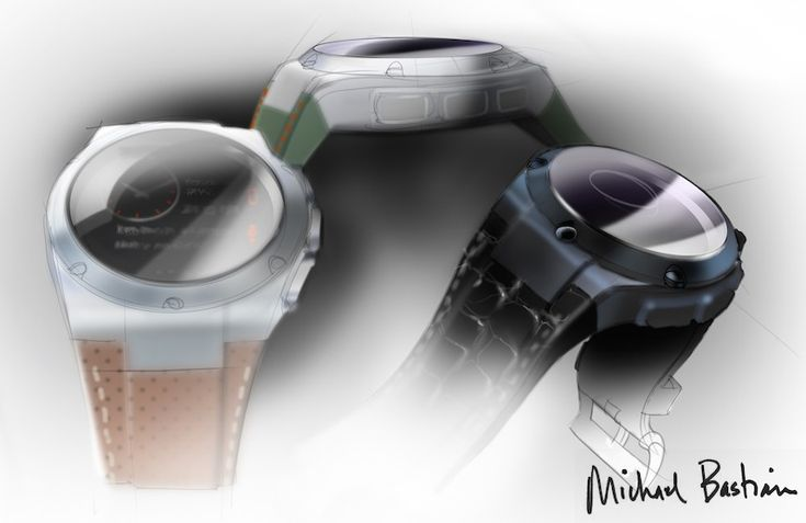 Gilt Michael Bastian Smartwatch Engineered By Hewlett-Packard