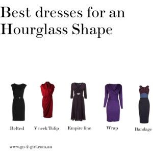 Best dresses for an Hourglass Shape