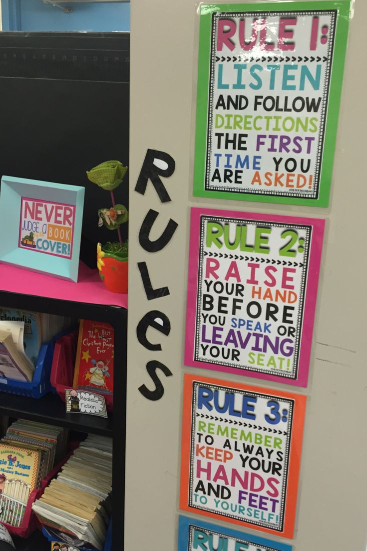 Classroom Decor 3rd Grade ~ Best ideas about preschool rules on pinterest