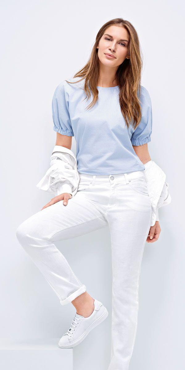 Angels Cici Jeans - Regular Fit - Weiss bei Jeans-Meile günstig online kaufen mit Fachberatung und Gratis Versand. Große Auswahl von Angels Jeans für Damen