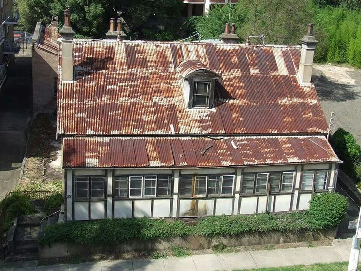 David Lennox House in Campbell St,Parramatta.David Lennox was the builder of Lennox Bridge.A♥W