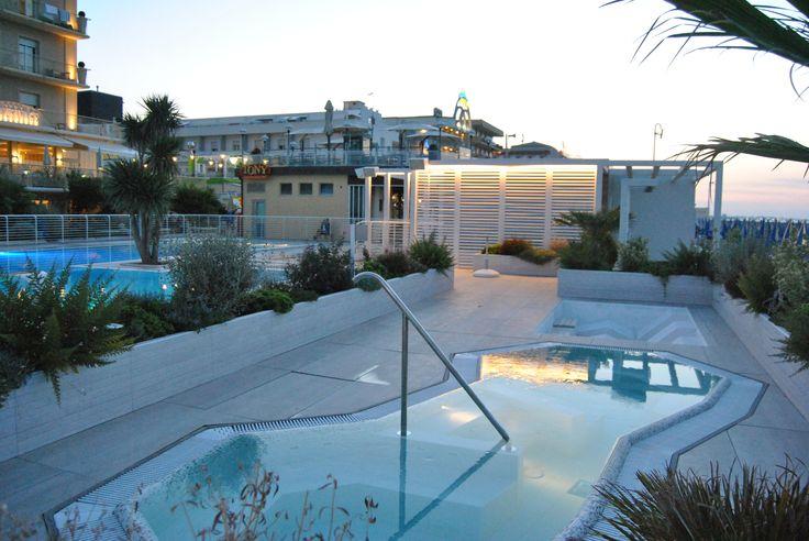 pool beach relax piscina sunset