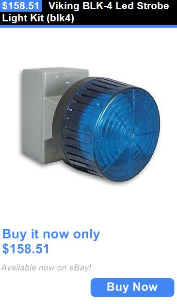 Other Home Telephones: Viking Blk-4 Led Strobe Light Kit (Blk4) BUY IT NOW ONLY: $158.51