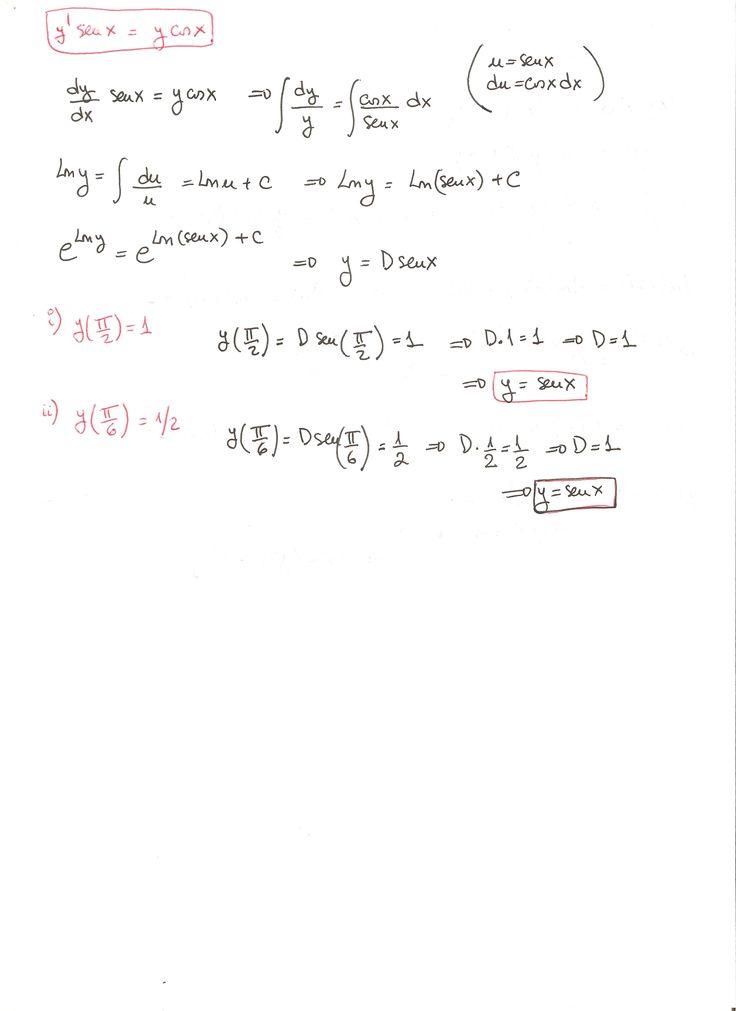 Solución del ejercicio 25 Ecuaciones diferenciales de variables separadas