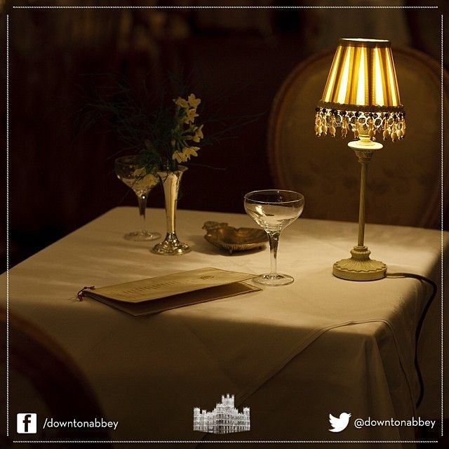 A lovely arrangement of #set and #props from #DowntonAbbey. A cosy scene indeed! #Behindthescenes #Downton