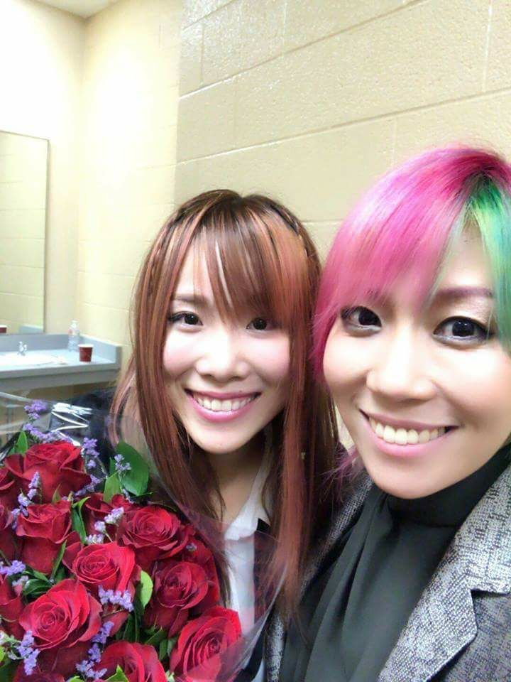 Kairi and Asuka, doesn't get much cuter than that