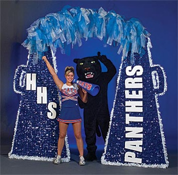Homecoming dance arch