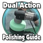 Dual Action Orbital Polishing Guide Saving to remove the swirls in my car's polish and make her look new again!