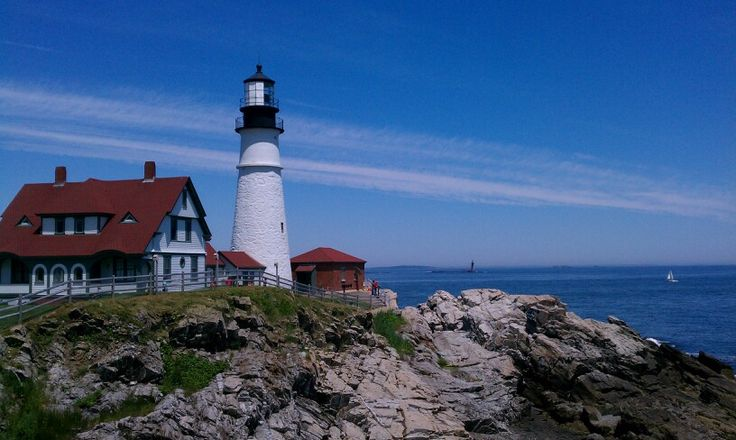 Landscaping Stones Portland Maine : Portland head light maine favorite places spaces