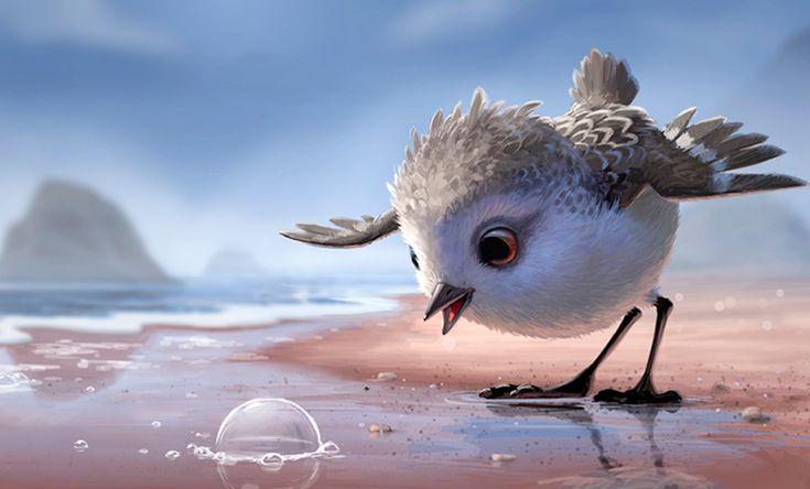 Piper: o novo curta metragem da Pixar