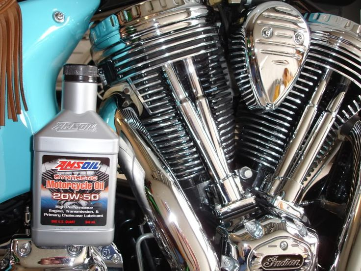 Indian Motorcycle Engine Oil - See more AMSOIL motorcycle products at http://shop.syntheticoilandfilter.com/motor-oil/motorcycle/
