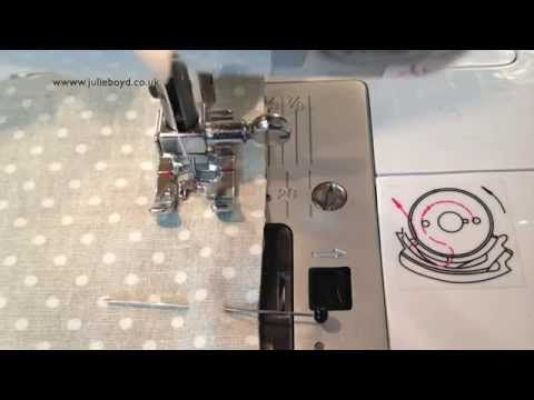 Textiles techniques - how to create an open seam