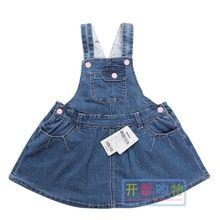 Бала бала ребятишки 2017 весна новая девушка молодой ребенок ковбой ремень юбка 21111170402