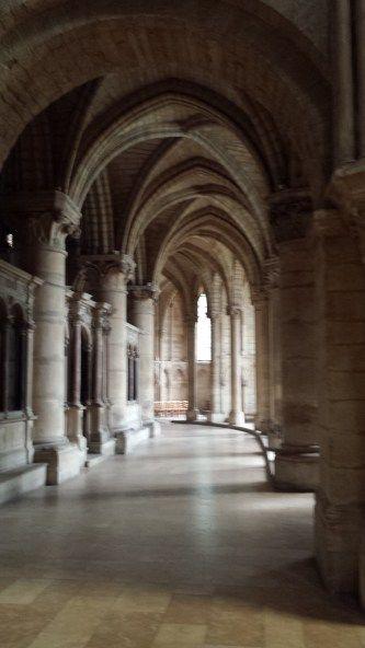 Basilique St. Remi Side Aisle