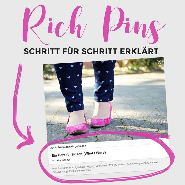 Pinterest Rich Pins einrichten