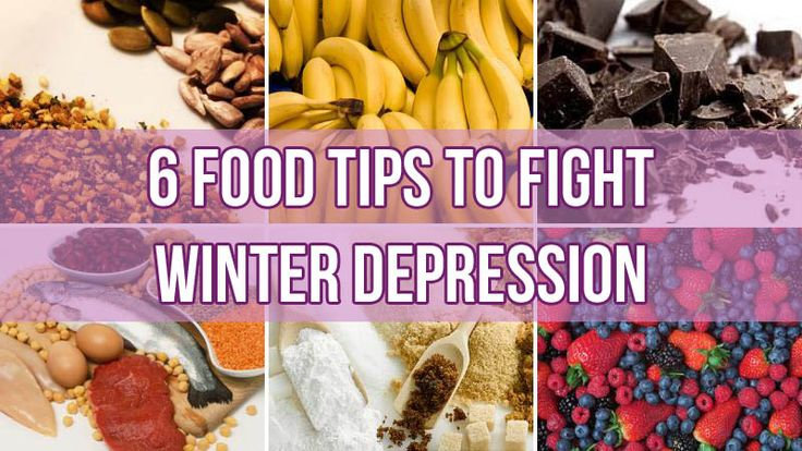 6 Food Tips to Fight Seasonal Affective Disorder (Winter Depression)