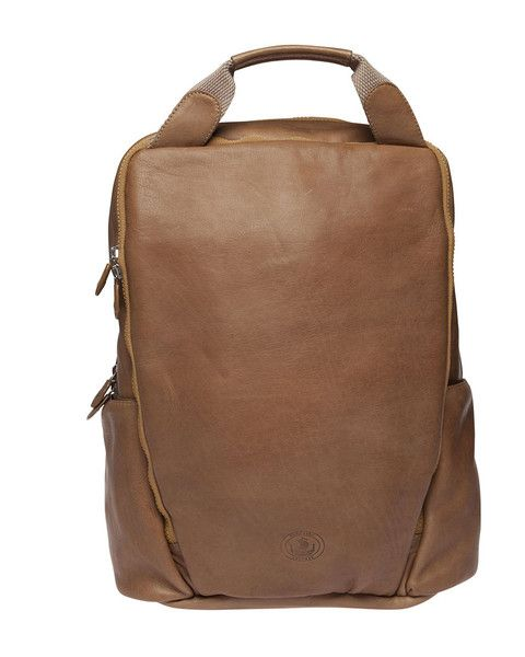 Henk Berg | Liam backpack | Vegetable tanned leather