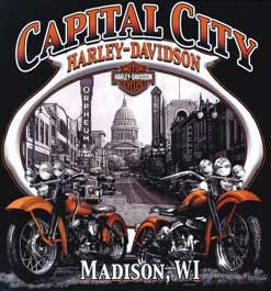 Capital City Harley-Davidson  6200 Millpond Road  Madison, WI  53718