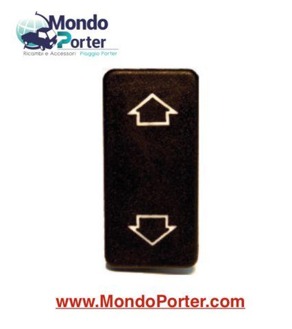 Interruttore - tasto- pulsante   Alzacristallo Piaggio Porter B007889