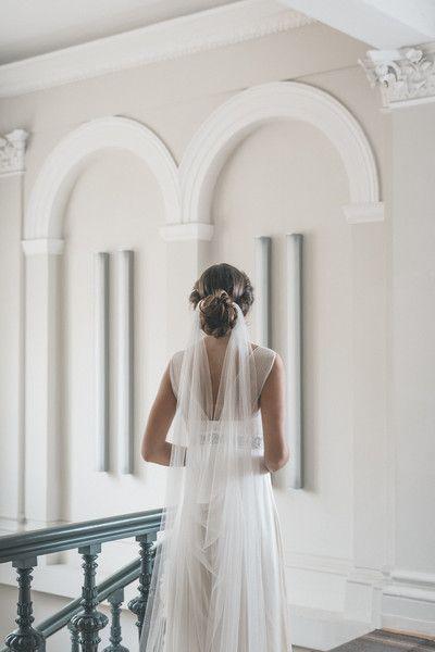 Wedding Veils – Draped Veil, Wedding Veil, Boho Veil – a unique product by floraljewellery-bridal on DaWanda