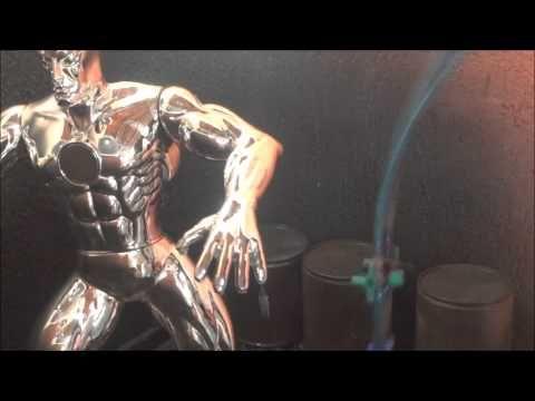 metalização,cromação,cromagem,espelhação,tinta cromo,metalização cromada - YouTube