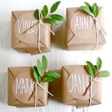 Petit cadeau aux invité et marque place