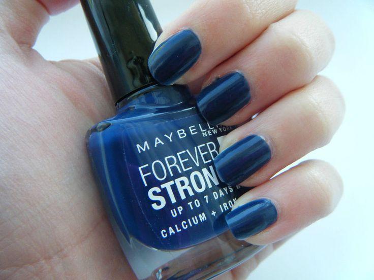 Maybelline Forever Strong Pro Smalto Rinforzante con calcio, ferro e silice