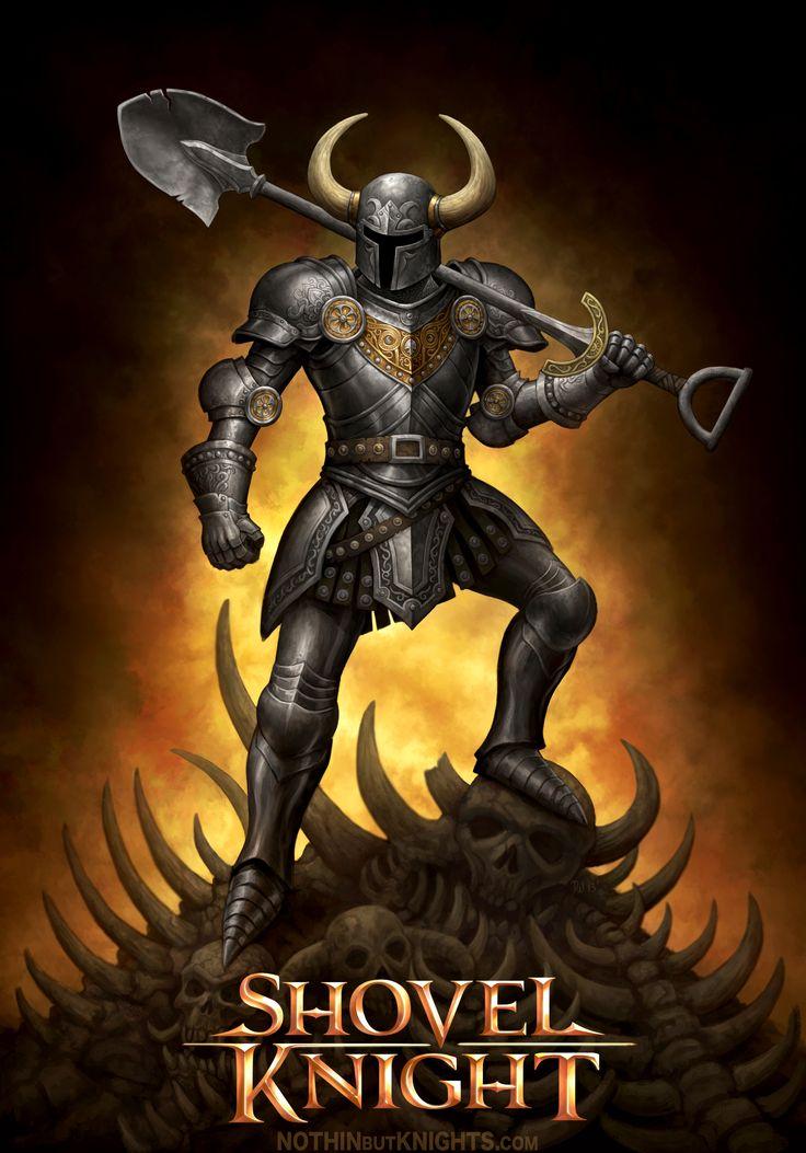 Shovel Knight by GoldenDaniel