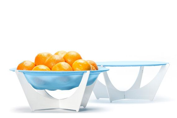 Modern Home Accents Stretchy Bowl Modern Fruit by hooknloopdesign, $49.00