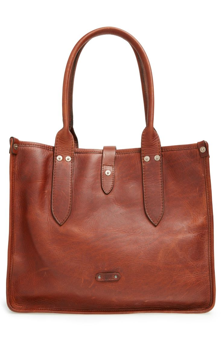 Frye 'Amy' Leather Shopper