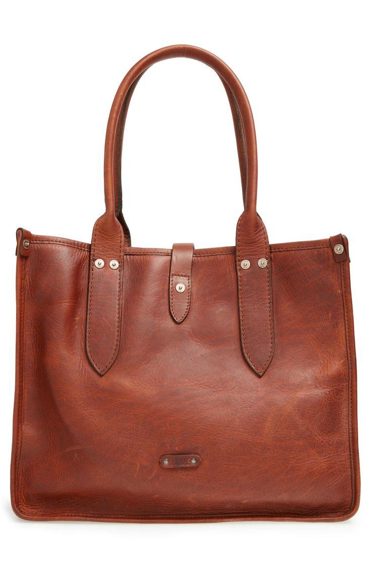 Frye 'Amy' Leather Shopper