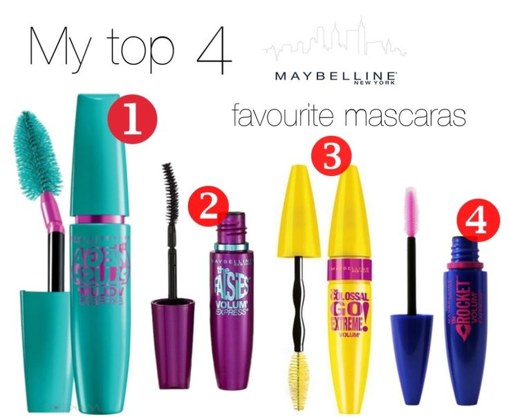 My top 4 Maybelline favourite mascaras 4 March, 2015 by Ioana Dumitrache / Make-up, Tips & Tricks / 0 Comments