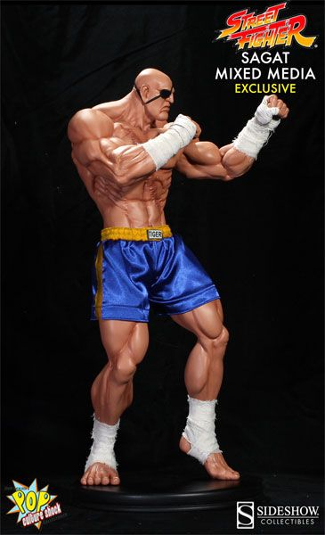 Sideshow Collectibles - Sagat Mixed Media Statue
