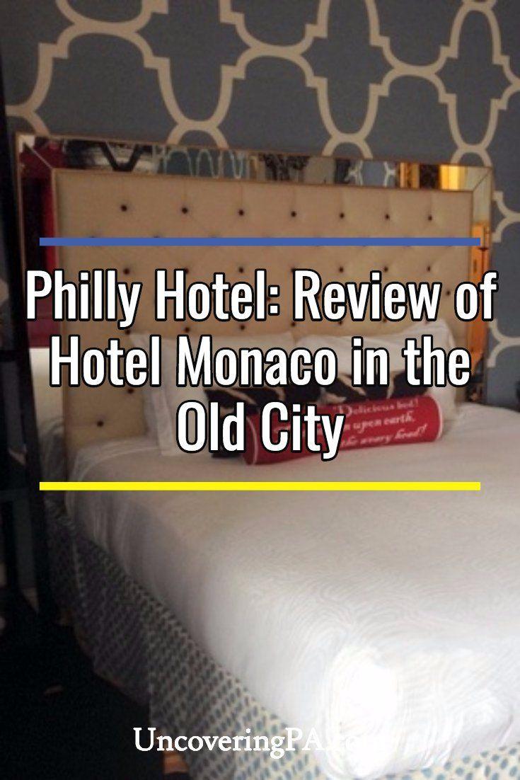 Philadelphia Hotels: Review of Hotel Monaco in the Old City #pennsylvania