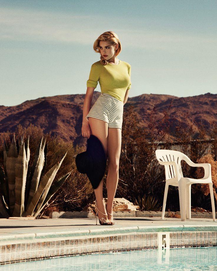 Model: Ashley Smith | Photographer: Dan Martensen - 'In the Swim' for The Telegraph, May 2012