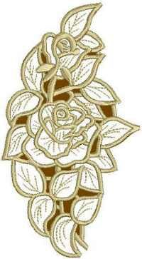 Advanced Embroidery Designs - Basket of Roses