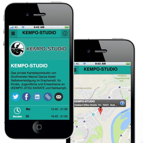 Hol Dir die kostenlose App vom KEMPO-STUDIO. Jetzt im App
