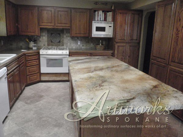 Creative Countertop Ideas 20 best awnw creative countertops images on pinterest | concrete