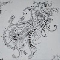 Henna Peacock 3 by ~MSBoyd on deviantART
