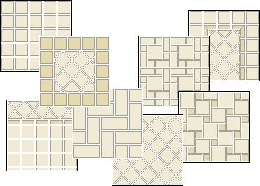 floor tile patterns and design layouts aol image search results - Bathroom Tile Layout Designs