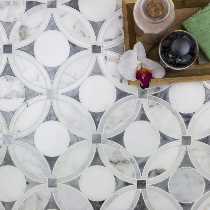 Shop For Highland Blossom Marble Tile at TileBar.com