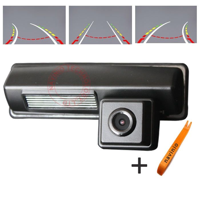 89.91$  Watch now - http://alivle.worldwells.pw/go.php?t=32717547456 - CCD car track camera reversing trajectory for Toyota Picnic Echo verso Harrier Camry Lexus Avensis for GPS radio waterproof NTSC 89.91$