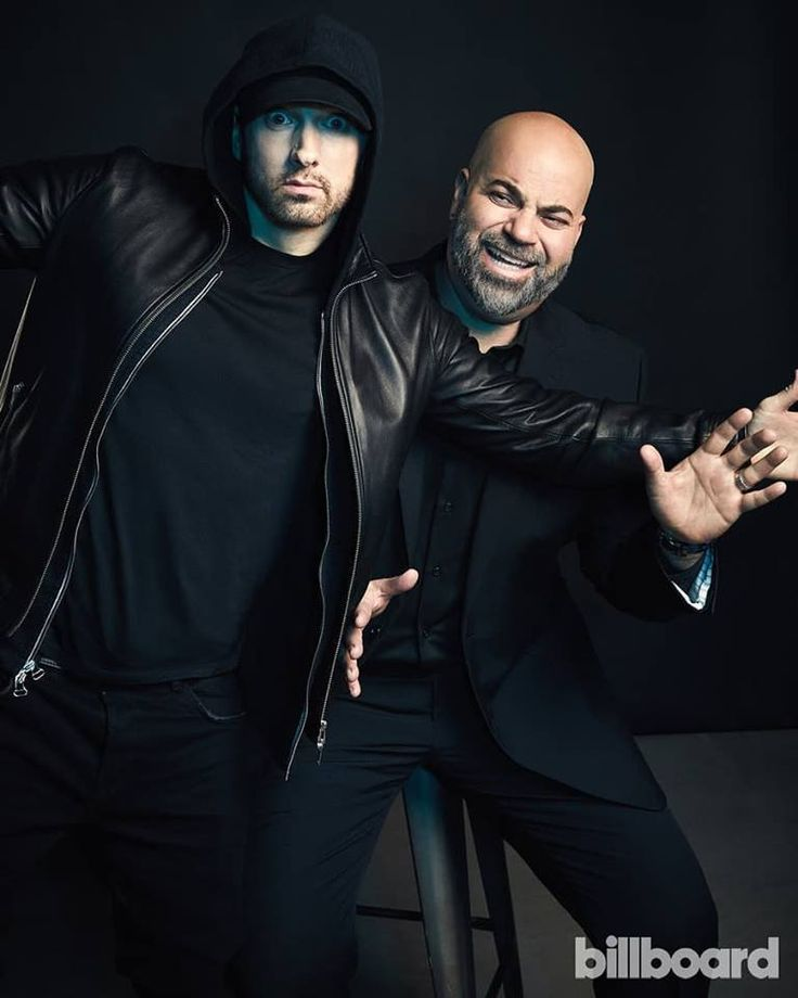 Eminem & Paul Rosenberg for Billboard Cover Shoot! #2k18