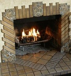 36 best images about spanish style home decor on pinterest for Spanish style fireplace