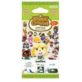 Carte Amiibo Animal Crossing Serie 1
