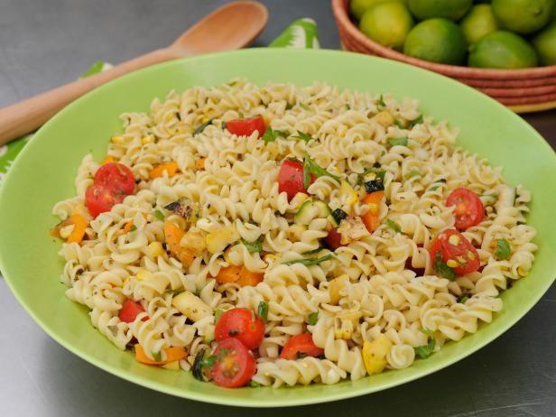 Colorful Veggie Pasta Salad Recipe | Katie Lee | Food Network